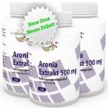 3er Pack Aronia Extrakt 500mg 360 Kapseln