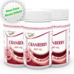 3er Pack Cranberry 400mg 180 Kapseln
