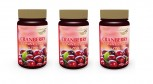 3er Pack Cranberry Extrakt 400mg + Vitamin C Selen Zink 180 Vegi Kapseln