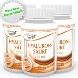 3er Pack Hyaluronsäure 250mg + Vitamin C 180 Vegi Kapseln