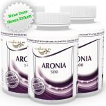 3er Pack Aronia 500mg 360 Kapseln