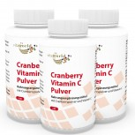 3er Pack Cranberry 400mg + Vitamin C  540 Kapseln