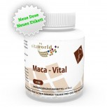 Maca Vital 380mg + Vitamin C und E 120 Kapseln