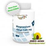 Magnesium Citrat 125mg 120 Vegi Kapseln