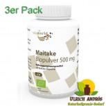 3er Pack Maitake Pulver Bio Qualität 500mg 360 Kapseln