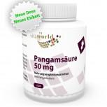 Pangamsäure Vitamin B15 50mg 120 Vegi Kapseln