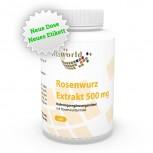 Rhodiola Rosea Rosenwurz Extrakt 500mg 120 Vegi Kapseln
