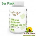 3er Pack Tribulus Terrestris Extrakt 500mg 300 Vegi Kapseln