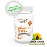 Vitamin D3 2000 I.U. 100 vegetarischeKapseln