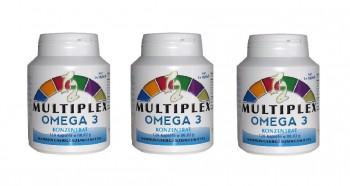 Pack di 3 Multiplex Omega-3 470mg 360 Capsule