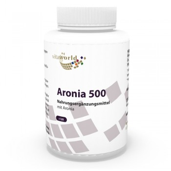 Aronia 500mg 120 Kapseln