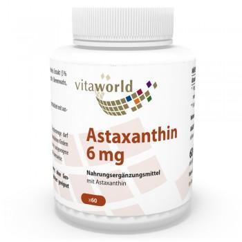 Astaxanthine 6 mg 60 Capsules