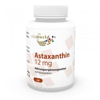 Astaxanthin 12mg 60 Vegi Kapseln