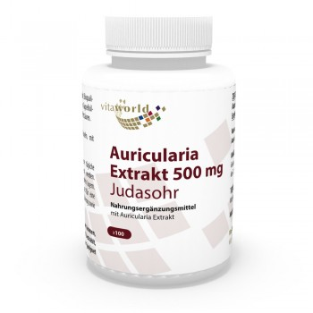 Auricularia Extrakt 500mg 100 Vegi Kapseln