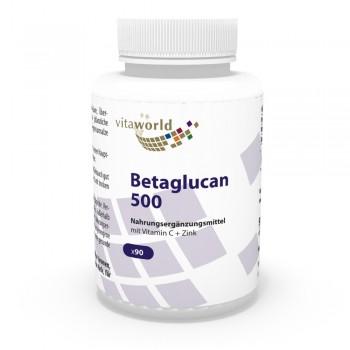 Beta-glucano 500mg 90 Capsule