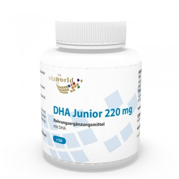 DHA Junior 220mg 120 Capsules