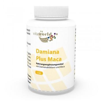 Damiana + Maca 120 Kapseln