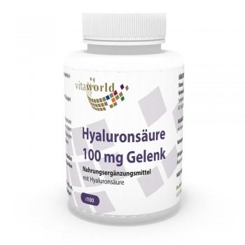 Acido Ialuronico Articolazione 100 mg 100 Capsule Vegetariano/Vegano