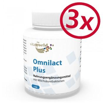 3er Pack Omnilact plus 300 Kapseln