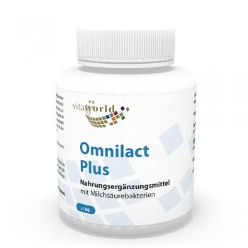 Omnilact plus 100 Capsule - Lactobacillus - Bifidobacterium