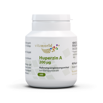 Huperzine A 200 mcg 60 Capsule Vegetariano/Vegano