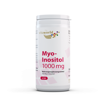 Myo Inositol 1000mg 120 Capsule