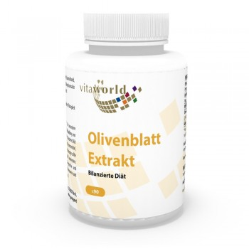 Olive Leaf Extract 90 Capsules