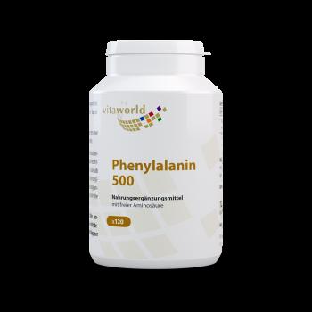 Phenylalanin 500mg 120 Vegi Kapseln