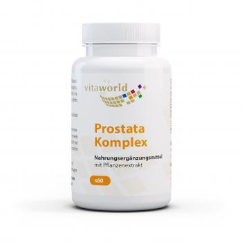 Complejo Prostático con Saw Palmetto, Granada, Licopeno y Beta-Sitosterol 60 Cápsulas Vegano/Vegetariano