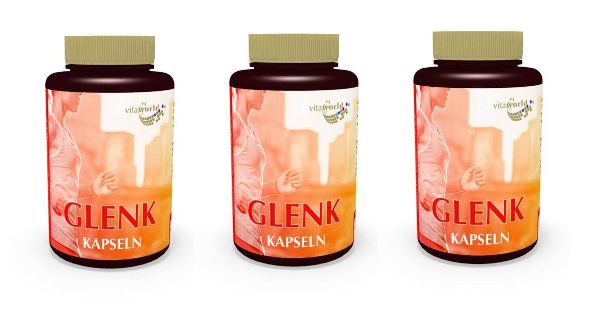 3er pack glenk 360 kapseln gelenk komplex glucosamin n308. Black Bedroom Furniture Sets. Home Design Ideas
