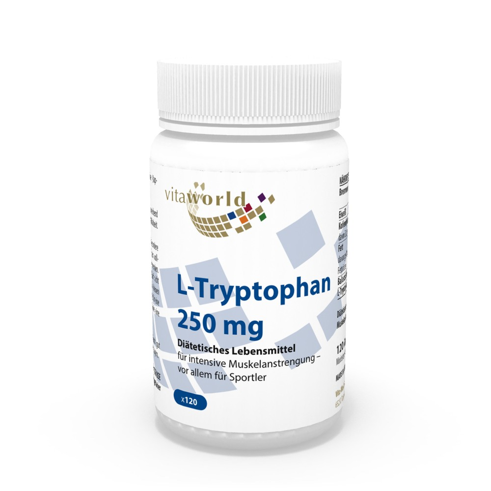 l tryptophan 250mg 120 capsules n131. Black Bedroom Furniture Sets. Home Design Ideas