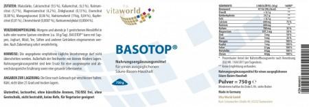 BASOTOP Balance Base Polvo 750 g
