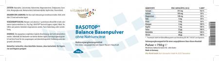 Sconto Naturale 6+1 Basotop Alcalinizzanti polvere minerale senza sodio citrato 7 x 750g