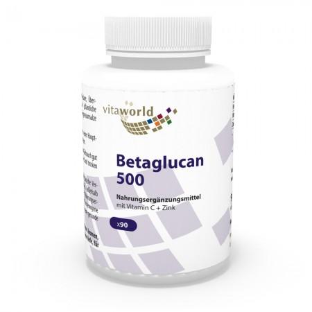 Betaglucan 500mg 90 Kapseln Vegan/Vegetarisch