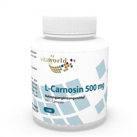 L-Carnosin 500mg 100 Kapseln