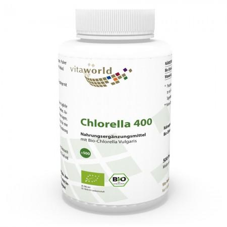 Bio Chlorella Vulgaris 400 (500 Presslinge)