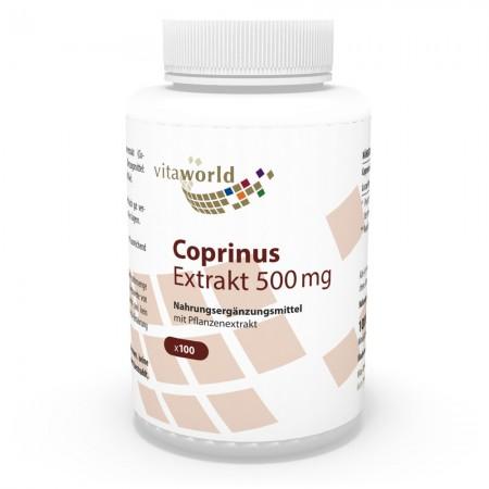 Coprinus Extrakt 500mg 100 Kapseln