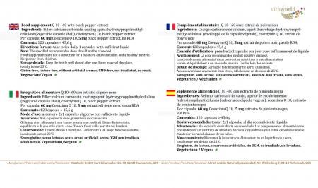 Omnilact Plus 60 capsule Vegetariano/Vegano (Lactobacillus, Probiotico)
