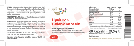 Hyaluronic Joint 60 Capsules