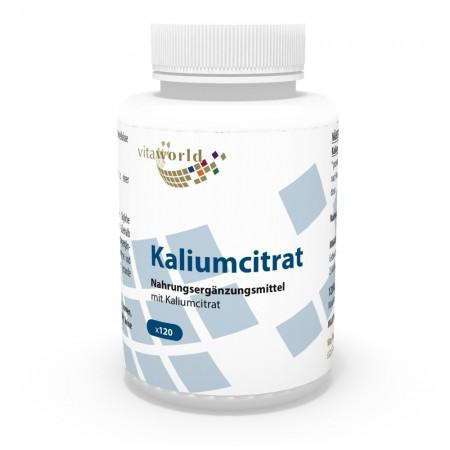 Kaliumcitrat 605 mg 120 Kapseln Vegetarisch/Vegan