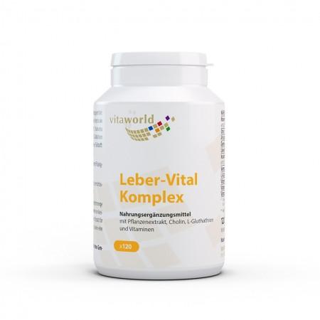 Leber-Vital Komplex 120 Kapseln Vegan/Vegetarisch