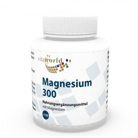 Magnesium 300mg 150 Tablets Vegetarian/Vegan