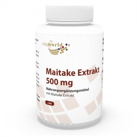 Naturalrabatt 6+1 Maitake Extrakt 500mg 7 x 100 Kapseln Vegetarisch/Vegan