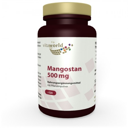 Mangostán 120 Cápsulas Vegetariano / Vegano