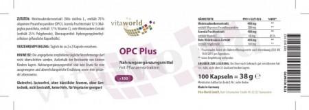 OPC plus 200mg 100 Kapseln Vegetarisch