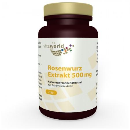 Extrait de Racine de Rose 500 mg 120 Capsules VÉGÉTALIEN / VÉGÉTARIEN