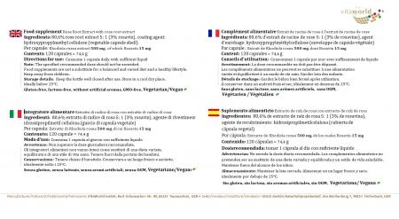 Naturalrabatt 6+1 Rhodiola Rosea Rosenwurz Extrakt 500mg 7 x 120 Kapseln VEGAN/VEGETARISCH