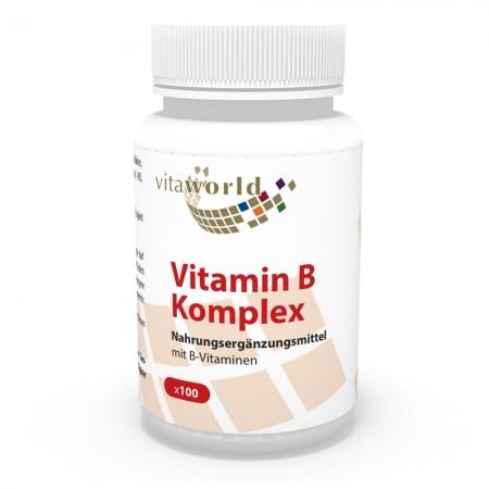 Remise Naturelle 6 + 1 Complexe de Vitamine B 7 x 100 Capsules Végétalien/Végétarien