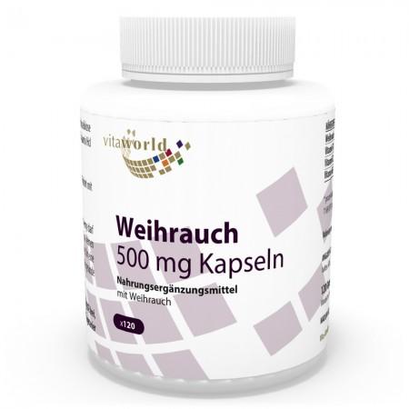 Boswellia Weihrauch 500 mg 120 Kapseln Vegan/Vegetarisch