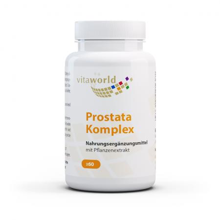 Prostata Komplex mit Sägepalme, Granatapfel, Lycopene und Beta-Sitosterol 60 Kapseln Vegan/Vegetarsich